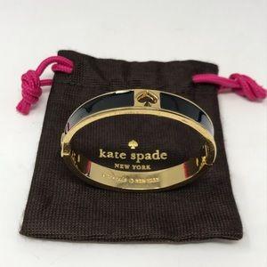 Kate Spade Bracelet New York Bangle Black